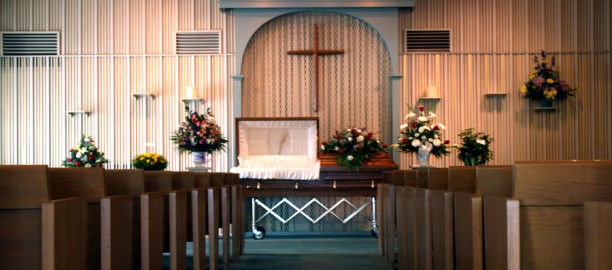Inside Petersen Funeral Home Chapel